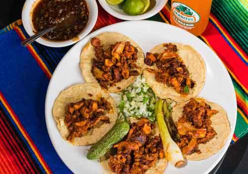 5 Tacos de Trompo x $35.00
